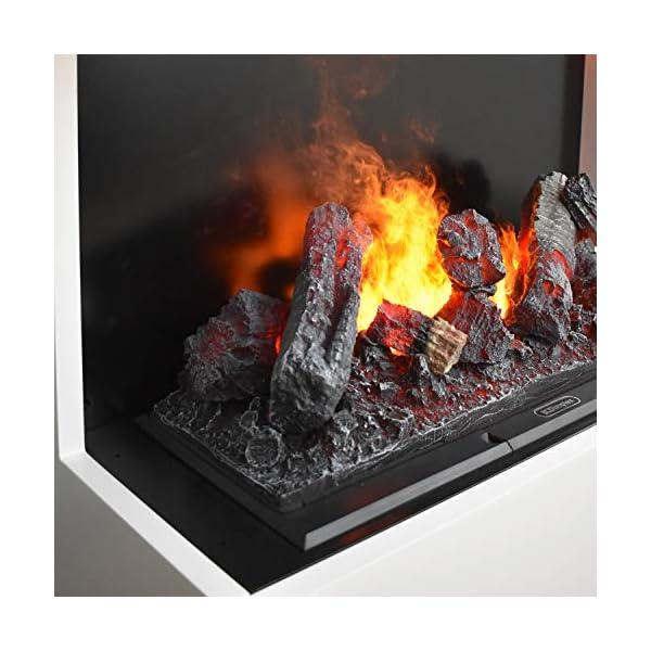 Chimenea eléctrica GLOW FIRE Opti-myst Kästner, chimenea de vapor, chimenea eléctrica independiente con control remoto…