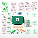 Home Treats First Aid Kit Bag. Essential For Home, Work, Sports, Office, Travel, Car, Camping.Includes Emergency Blanket… 4