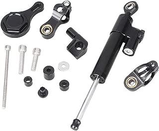 Steering Damper with Bracket Fits Yamaha YZF R1 1999-2005 Newsmarts Motorcycle CNC Steering Damper Stabilizer Buffer Control Bar