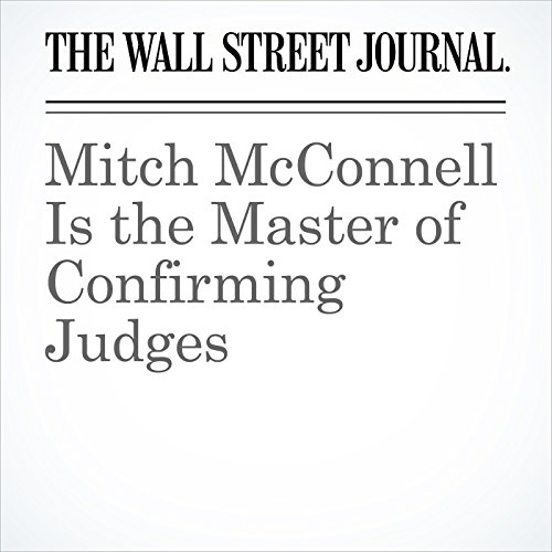 Mitch McConnell Is the Master of Confirming Judges copertina