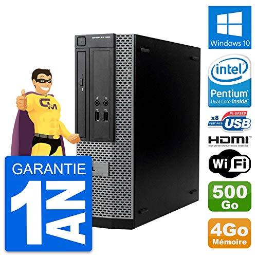Dell PC OptiPlex 390 SFF Intel G630 RAM 4 GB Festplatte 500 GB HDMI Windows 10 WiFi (überholt)