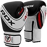 RDX Guantes de Boxeo Niños Muay Thai Entrenamiento, Maya Hide Cuero, 6oz 4oz Junior Boxing Gloves, Sparring...