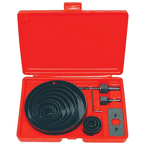 Power Tools NEW HOLE SAW SET - 16 pc Hole Saw Kit- 3/4