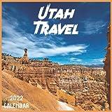 Utah Travel Calendar 2022: 2021-2022 Utah Weekly & Monthly Planner   2-Year Pocket Calendar   19 Months   Organizer   Agenda   Appointment   For Utah Lovers