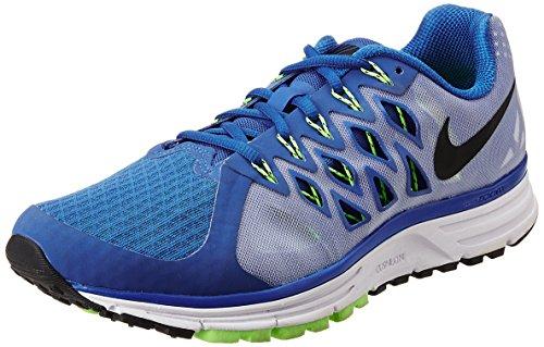 Nike Herren Zoom Vomero 9 Sportschuhe, Mehrfarbig (Lyon Blue/Black-White-Flsh LM), 40 EU