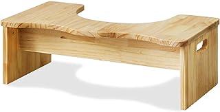 RiZKiZ 木製 トイレステップ 【ナチュラル】 耐荷重200kg 子供 キッズ 踏み台 ステップ トイレトレーニング