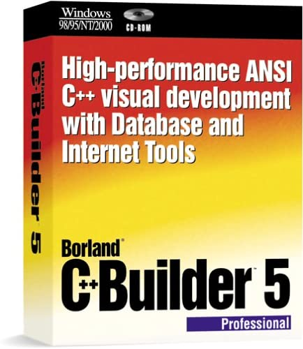 Limited time for free shipping Borland C++ Builder Upgrade Professional 5.0 Daily bargain sale