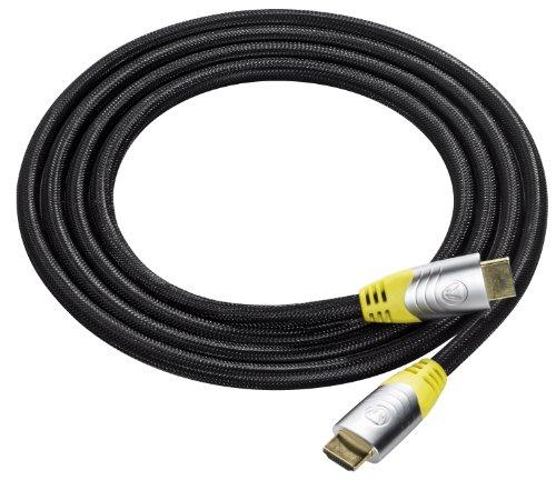 Snakebyte Mamba - Cable HDMI metálico para PS3/Xbox 360