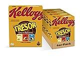 Kellogg's Tresor Roulette Cerealien | 4er Vorratspack | 4 x 375g