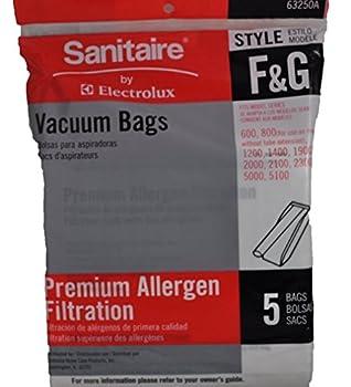 Sanitaire Style F & G Premium Allergen Filtration Vacuum Bags 5 Per Pack