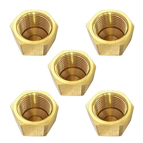 Brass 45 Degree Flare Cap 1/2