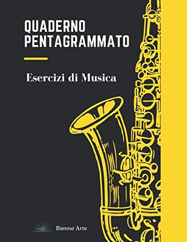 Quaderno Pentagrammato: Esercizi di Musica