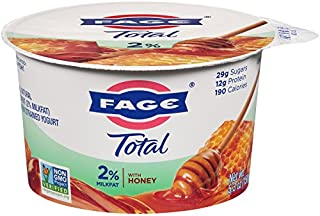 FAGE TOTAL Split Cup, 2% Greek Yogurt with Honey, 5.3 oz