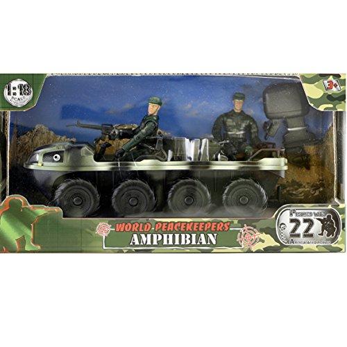 World Peacekeepers Military Amphibian Playset