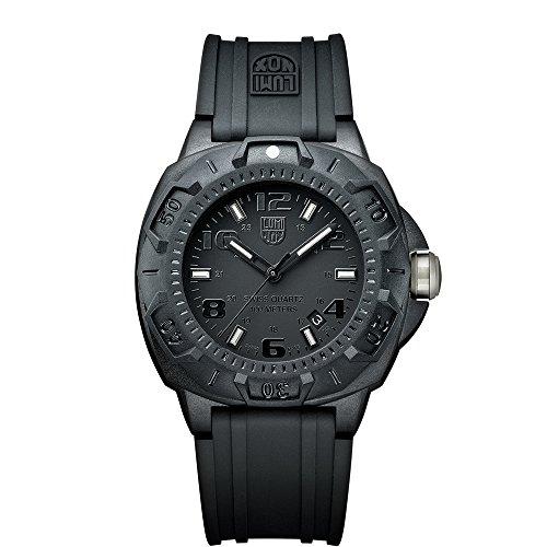 Luminox Sentry 0200 XL.0201.BO Reloj de Plásticolsera Cuarzo Hombre correa de Plástico Negro