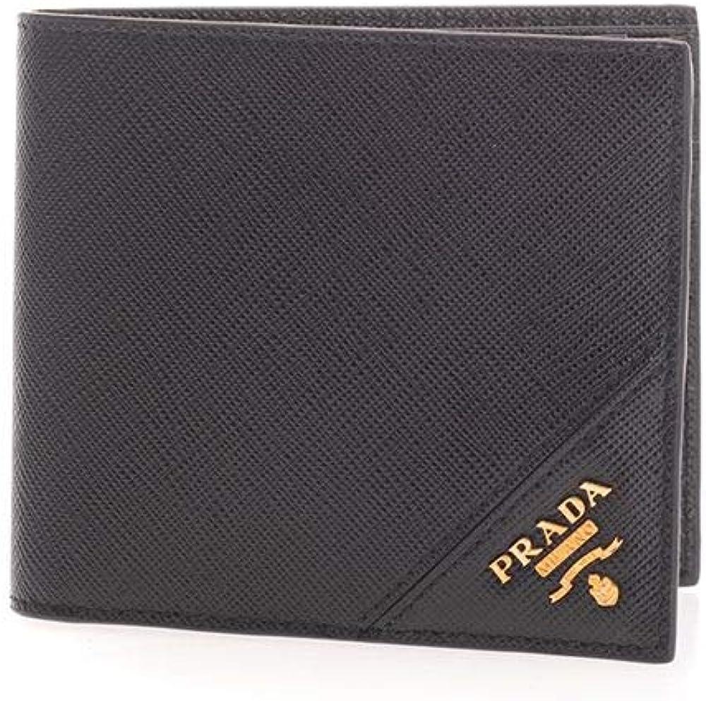 Prada luxury fashion portafoglio in pelle per uomo 2MO513QMEF0632