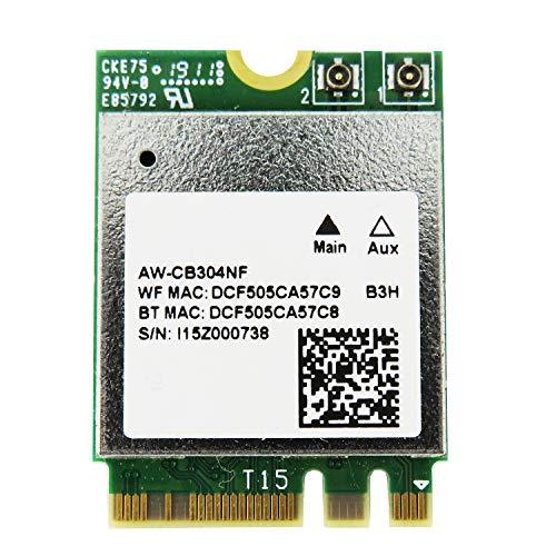 Skynew M.2 Wi-Fiモジュール ネットワークカード IEEE802.11a/b/g/n/ac 2.4G/5Ghz+ Bluetooth 4.2対応 WiFiカード ワイヤレスカード RTL8821CE
