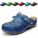 Sandalias Mujer Verano Cuña Sandalias Cerradas Cómodos Casual Zapatos de Playa Informales Para Mujer...
