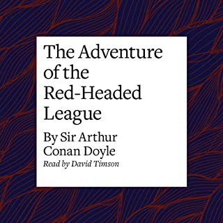 The Adventure of the Red-Headed League cover art