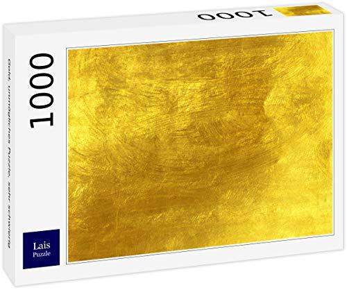 Lais Puzzle Gold, unmögliches Puzzle, sehr schwierig 1000 Teile
