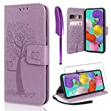 AROYI Compatible with Samsung Galaxy A51 Case and Screen