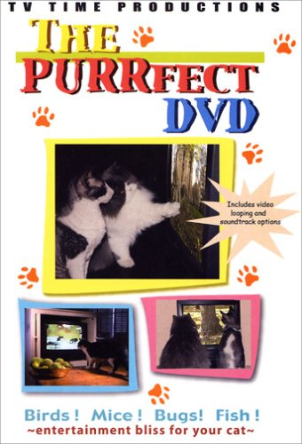 The Purrfect DVD - Cat Entertainment Video