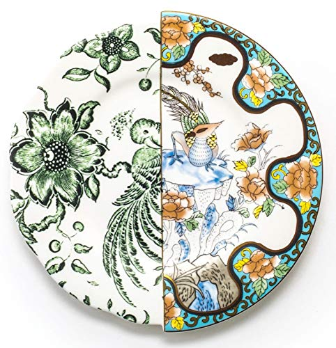 SELETTI Piatto da Frutta in Porcellana Ø Cm.20 H.1,6'Hybrid-Zoe