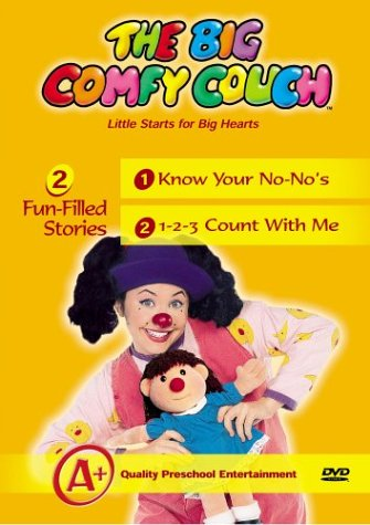 Big Comfy Couch: Know Your No-No's & 1-2-3 Count [VHS]