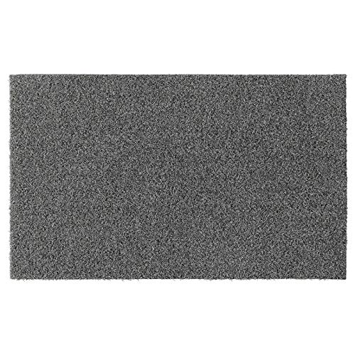 My- Stylo Collectie Deurmat, Binnen/buiten Grijs, Productafmeting: Lengte: 80 cm Breedte: 50 cm Dikte: 11 mm Gebied: 0.40 m2 Oppervlaktedichtheid: 2000 g/m2 pooldekking: 580 g/m2 pooldikte: 8 mmr