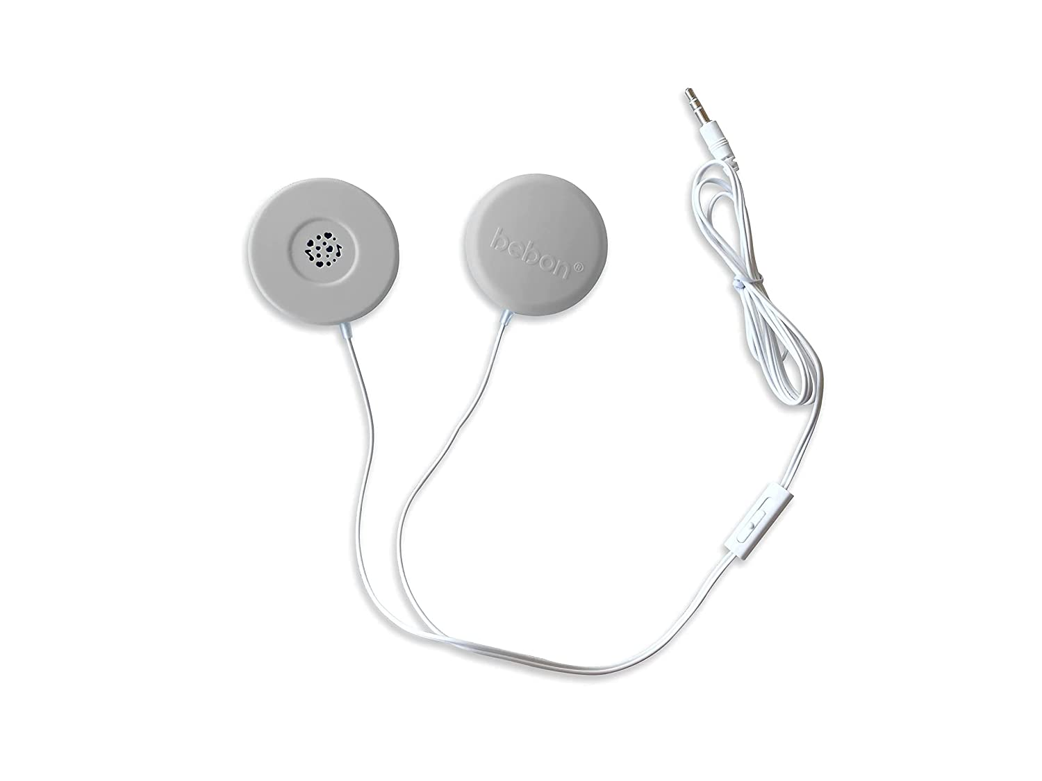 Baby Bump Headphones Marvelous Edition, Plays and Shares Music, Sound and Voices to The Womb, Prenatal Speaker, Including bebon Tunes APP (Stone)