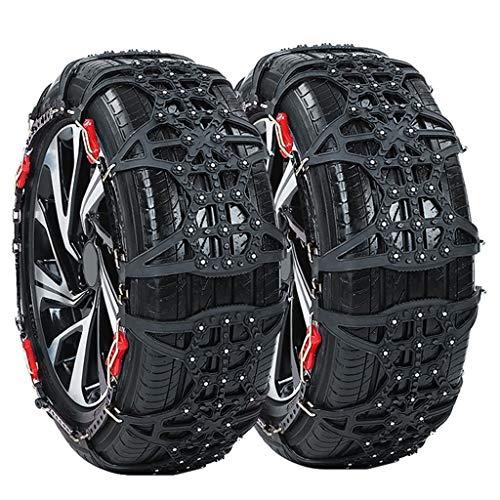 DWCL 2ST verdickte Verbreiterte Anti-Rutsch-Rad-Schnee-Kette Winter-LKW-Auto-Schnee-Reifen-Kette Anti Skid-Car Access mit Handschuhen und Montagewerkzeug (Size : 275/60R20)