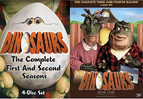 Dinosaurs The Complete TV Series Seasons 1 2 3 4 on DVD