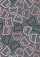 igsticker ポスター ウォールステッカー シール式ステッカー 飾り 1030×1456㎜ B0 写真 フォト 壁 インテリア おしゃれ 剥がせる wall sticker poster 006784 アニマル ネコ 動物 イラスト