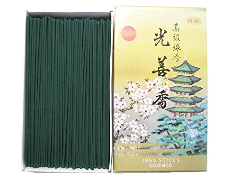 第二重要無傷淡路梅薫堂のお線香 光善香 徳用バラ入 #406 ×12