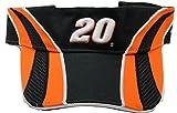 Joey Logano #20 Chase Authentics Trackside Visor, Black Orange