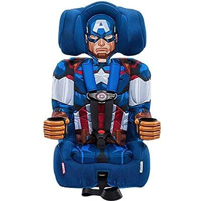 KidsEmbrace 2-in-1 Harness Booster Car Seat, Marvel Avengers Captain America from KidsEmbrace, Marvel