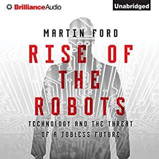 Rise of the Robots audiobook cover art