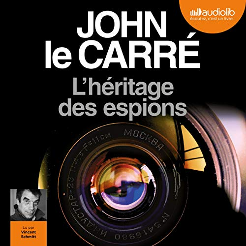 L'héritage des espions Audiobook By John le Carré cover art