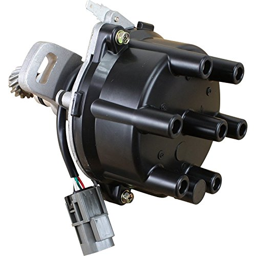Price comparison product image AIP Electronics Complete Premium Electronic Ignition Distributor Compatible Replacement For 1990-1998 Nissan and Mercury 3.0L 22100-88G00 Oem Fit D6P88
