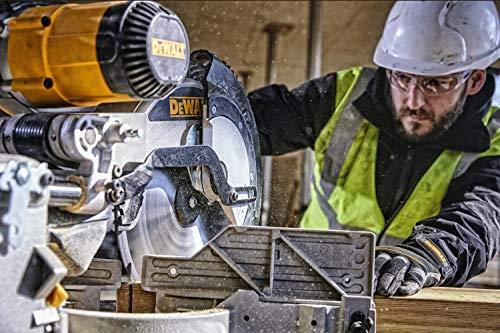 DeWalt Paneelsäge 1675W DWS780 inkl. Zubehör – Mit 305×30 mm HM-Sägeblatt ideal für den Innenausbau – Hohe Schnittkapazität & LED Schnittlinien Anzeige - 7