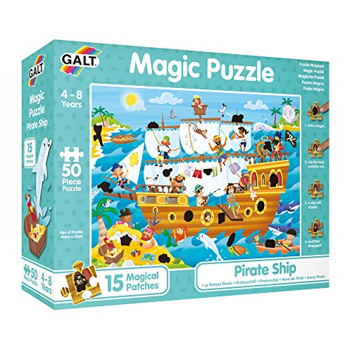 Galt 45145 - Thermopuzzle, Piratenschiff