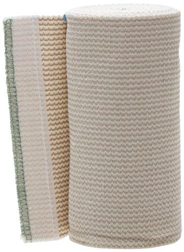 Medline MDS087106LF Matrix Elastic Bandages, Non Sterile, 6' x 10 yard, White/Beige (Pack of 20)