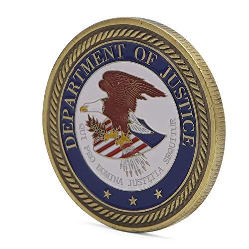 "Panda Loco Medaillen-Medaille""Departy-Of Justice United States of America"", zum Sammeln"
