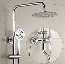 CYSLT Sink Faucet,Faucet,taps,Sink Faucet Kitchen,Kitchen Sink faucets.Bathroom Copper Shower Switch hot and Cold Water Faucet Concealed Mixed Water Valve Electric Water Heater Shower Set
