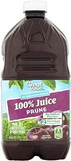 Best great value 100 prune juice Reviews
