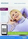 klicktel Telefon- und Branchenbuch Herbst 2019 -
