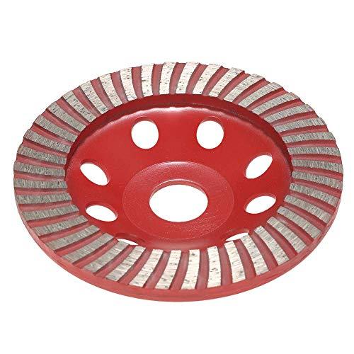 ZJN-JN Hoja de Sierra Muela, 125 mm 5' segmento de Diamante en Forma de muela abrasiva del Disco Cuenco Grinder Copa 22mm Agujero Interior Herramienta para Cortar