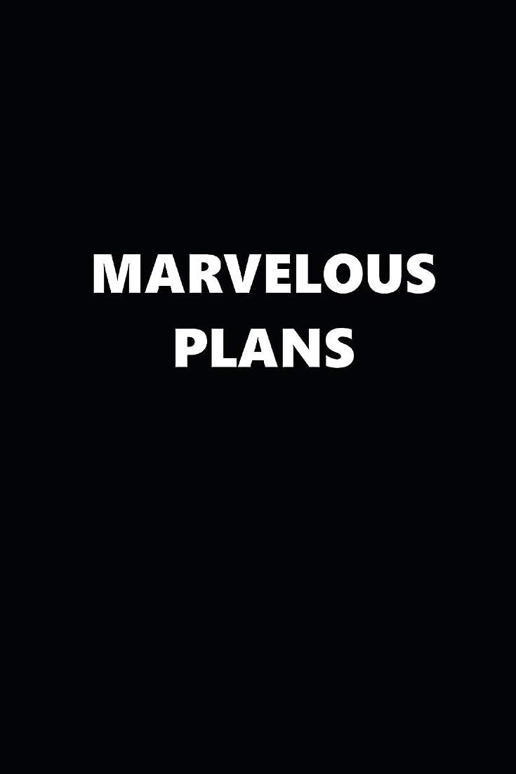 リファインまどろみのある村2019 Weekly Planner Funny Theme Marvelous Plans Black White 134 Pages: 2019 Planners Calendars Organizers Datebooks Appointment Books Agendas