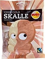 Bubs Godis Skalle スカッレ マシュマロ 骸骨 グミ コーラ味 90g×10袋セット グルテンフリー スゥエーデンのお菓子です [並行輸入品]