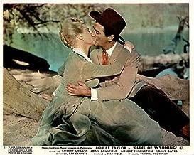 Guns of Wyoming Robert Taylor Kisses Joan Caulfield Original Lobby Card